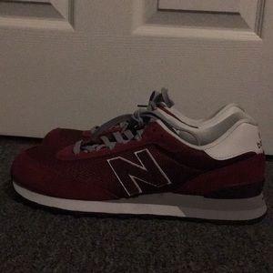 Men's Red New Balance 10.5, Never worn. NWOT